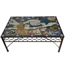 mosaic coffee table stained glass piper how to