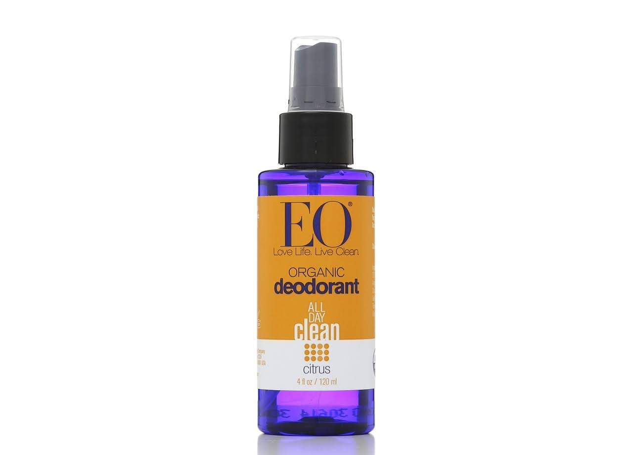 EO Products Organic Deodorant Spray - Citrus, 4oz