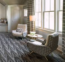 Master Bedroom Sitting Area, Rug Company Rug, Silver Wallpaper ...