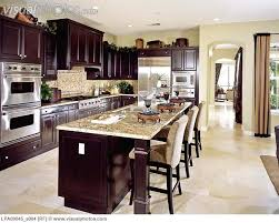 Kitchen Design Ideas Dark Cabinets Magnificent Amazing Of With Alluring Home