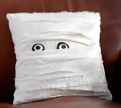 mummy decorative pillow pottery barn
