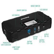 100 Heavy Duty Truck Battery Charger Amazoncom Nekteck Multifunctional Car Jump Starter Portable