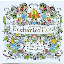Aliexpress Buy 24 Pages Enchanted Forest Secret Garden