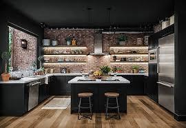 Kitchen Styles Ideas 80 Black Kitchen Cabinets The Most Creative Designs
