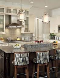 when hanging pendant lights a kitchen island like these