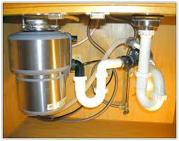 clogged kitchen sink garbage disposal parts illustration unit
