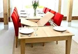 Extendable Dining Table Seats 12 Furniture Extension Modern Decoration Fashionable From