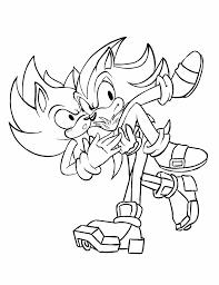Colorear De Sonic X
