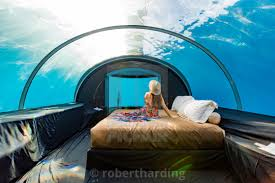 100 Conrad Maldives Underwater Views From Ithaa The Undersea Restaurant At