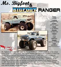 100 Bigfoot Monster Truck History Madness 11 BIGFOOT Ranger Replica Big