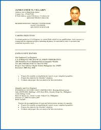 Resume Objectives Examples For Ojt Sample Hotel And Restaurant Management Best Of Hrm Student Templates
