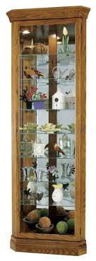 corner curio cabinets made in usa the clock depot