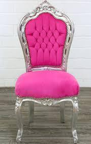 esszimmerstuhl silber pink moreko gmbh