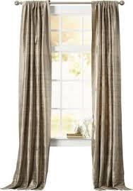 bayley faux silk taffeta blackout grommet single curtain panel