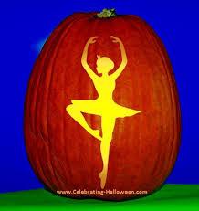 Ariel On Rock Pumpkin Carving Pattern by Free Printable Ballerina Silhouette Pumpkin Carving Pattern