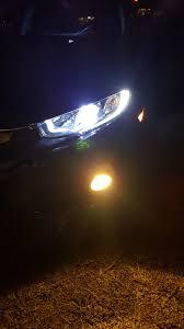 diy fog light bulb install also installed hid headlight bulbs