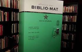 Vintage Book Vending Machines Machine