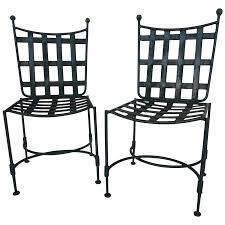 Salterini Iron Patio Furniture by Viyet Designer Furniture Seating Salterini Wrought Iron