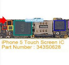 New Touch Screen IC Digitizer Controller Repair Part 343S0628 Fix