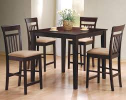 100 Bar Height Table And Chairs Walmart Dining Room Coaster Dinette Tall Kitchen Set