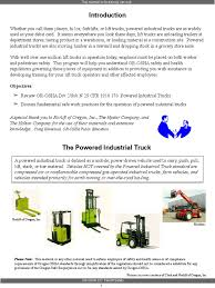 100 Powered Industrial Truck 221i Forklift