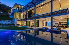 104 Beverly Hills Houses For Sale A Mansion Features Triumphant Modernism Listed 33 950 000