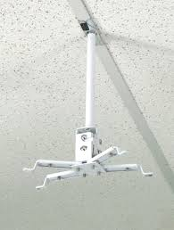 suspended drop ceiling projector mount alzo digital