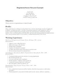 Registered Nurse Example Resume Examples Of Resumes Objective Sample Objectives For Nursing Good Call Center Curriculum