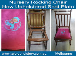 Antique Rocking Chair Restoration - Reupholstery By JARO Upholstery ... Vintage Exposed Wood Rocking Chair With Upholstered Seat By Antique Open Arm Rocking Chair Upholstered Seat And Back Summer Days Wooden Mahogany Lincoln Rocker Sell 6 Needlepoint Covers Upholstery From Vulcanlyric Amazoncom Fniture Of America Betty Oak With Cane And Back Ebth Hcom Lounger Relaxing Padded Love Shop Quality Hospality Rattan Legacy Cushioned Outdoor Interior Design
