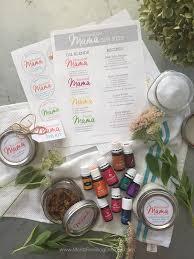 Essential Oils Homemade Spa Kit