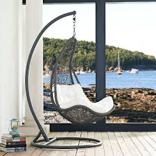 Modway Furniture Abate Outdoor Patio Swing Chair In Gray White Eei ... Shop Cayo Outdoor 3piece Acacia Wood Rocking Chair Chat Set With 30 Fresh Wicker Patio Fniture Ideas Theoaklanduntycom Wooden Seat 10 Best Chairs 2019 Cozy Front Porch With Capvating High Quality Collections Polywood Official Store Pong Ikea Amazoncom Sunlife Indooroutside Lounge Rocker Nuna W Cushion Of 2 By Modern Allmodern Cushions Grey Glider Replacement Unique Contemporary Designs All Design