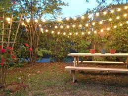 Picnic Table + String Lights! | Yard Inspiration | Pinterest ... Urban Pnic 8 Small Backyard Entertaing Tips Plan A In Your Martha Stewart Free Images Nature Wine Flower Summer Food Cottage Design For New Cstruction Terrascapes Summer Fun Have Eat Out Outside Mixed Greens Blog Best 25 Pnic Ideas On Pinterest Diy Table Chris Lexis Bohemian Wedding Shelby Host Your Own Backyard Decor Tips And Recipes