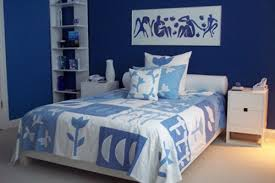 Blue And White Bedroom Small 0 Home Improvement Ideas Interior Decoration For Rooms