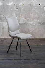 kawola esszimmerstuhl dina stuhl kunstleder grau füße schwarz kaufen otto