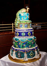 772 best Peacock Cakes images on Pinterest