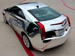 360 Wraps Custom Cadillac CTS Chrome Vehicle Wrap