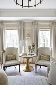 terrific curtain ideas living room with 4 windows and dining room