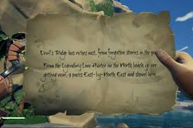 Sea Of Thieves Riddle Guide Solutions Location Devils Ridge Island Answer Clue