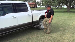 100 Side Step For Trucks 2015 D F150 Demonstration YouTube