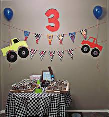 100 Monster Truck Party Decorations Decor For The Kiddo Pinterest