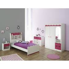 chambre enfant fille pas cher lilou chambre enfant décor pin et achat vente chambre