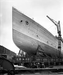 The Sinking Of The Britannic Old Version by Bow View Of The U0027aquitania U0027 1914 Before Launch Rms Aquitania