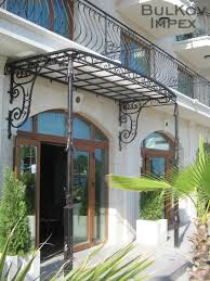 Wrought Iron Awning With Decorated Columns | Ковано желязо Bul-Kov ... High End Projects Specialty Restorations Jnl Wrought Iron Awnings The House Of Canvas Exterior Design Gorgeous Retractable Awning For Your Deck And Carports Steel Metal Garages Barns Front Doors Homes Home Ideas Back Canopies Obrien Ornamental Wrought Iron And Glass Awning Several Broken Blog Balusters Railing S Autumnwoodcstructionus Iron And Glass Awning Googleda Ara Tent Pinterest Bromame Company Residential Commercial Lexan Door Full Image Custom Built