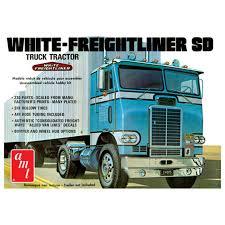 100 White Freightliner Trucks Round 2 LLC Single Drive Tractor 849398011522 EBay