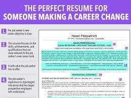 Cv Profile Examples Career Change 7