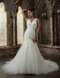 white lace mermaid wedding dresses naf dresses
