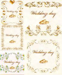 Wedding Cards Designs Vector