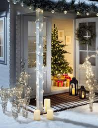 Lighted Spiral Christmas Tree Uk by Christmas Porch Pathway Light Ideas Christmas Light Ideas
