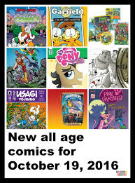 Garfields Halloween Adventure Youtube by New All Age Comics For October 19 2016