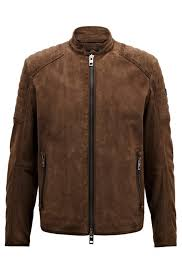 Details About Hugo Boss Jacket Biker Slim Fit In Suede Leather Jaydee -  50391742 Hugo Boss Blue Black Zip Jumper Mens Use Coupon Code Hugo Boss Shoes Brown Green Men Trainers Velox Watches Online Boss Orange Men Tshirts Pascha Faces Coupons Discount Deals 65 Off December 2019 Blouses When Material And Color Are Right Tops In X 0957 Suits Hugo Women Drses Katla Summer Konella Dress Light Pastel Pink Enjoy Rollersnakes Discount Actual Discounts The Scent Gift Set For